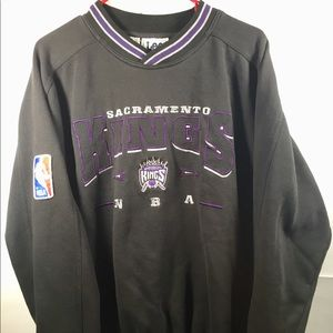 VTG Sacramento Kings Lee Sports Crewneck Men Sz XL
